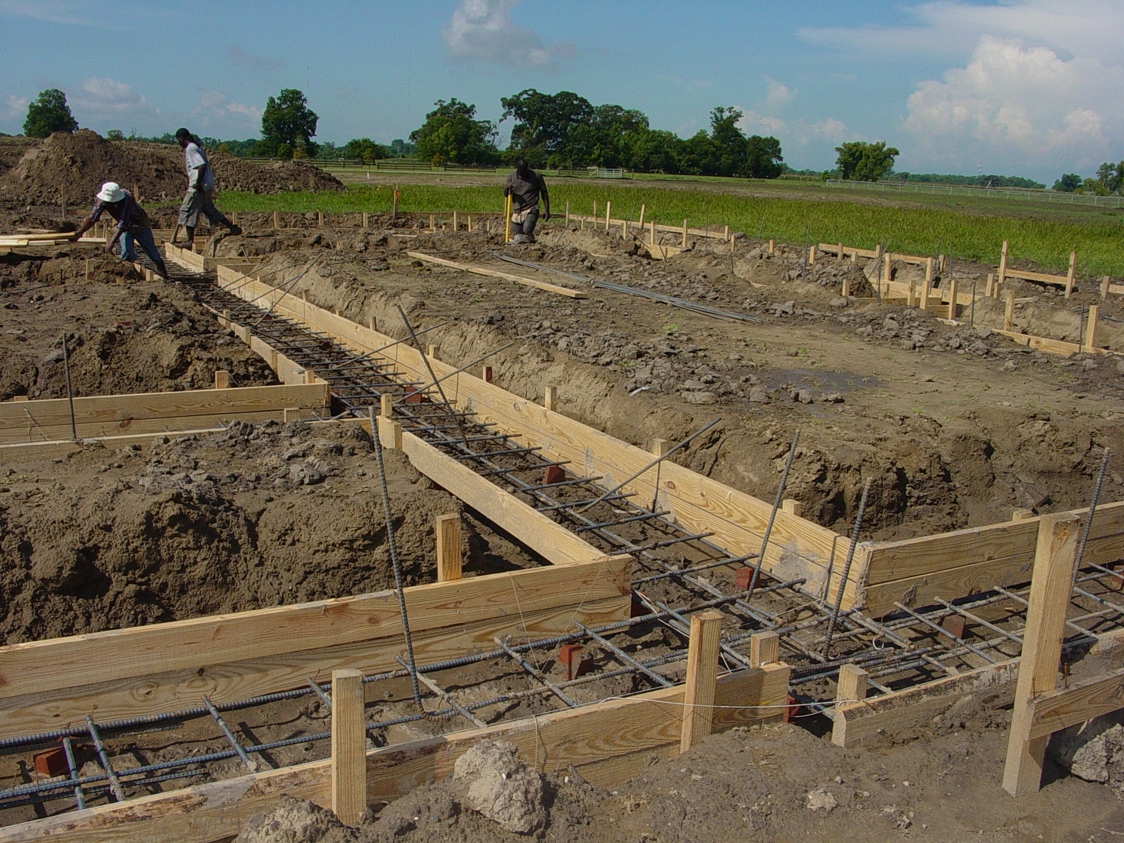 House construction foundation for house construction for Foundation for homes