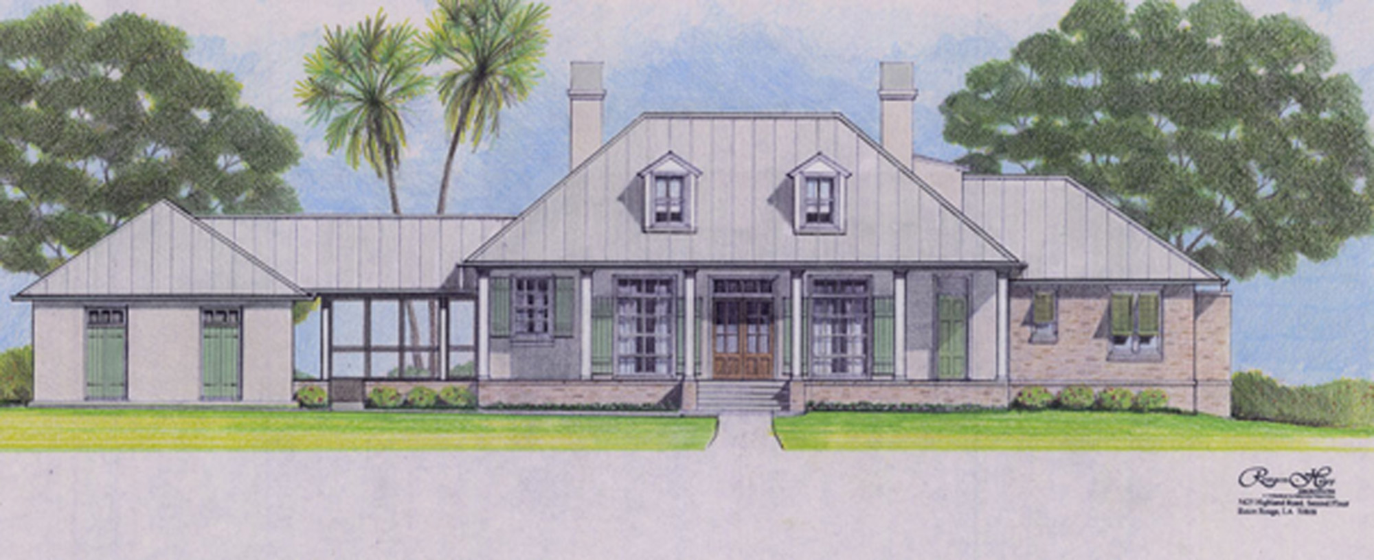 Louisiana House Design
